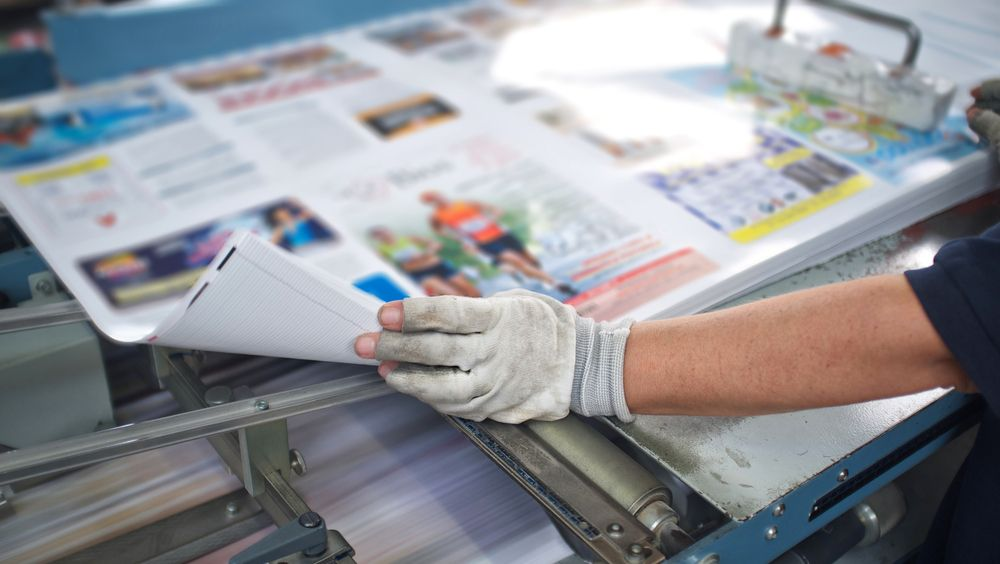 Newspaper and newsletter printing